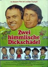 Zwei himmlische Dickschädel - Poster