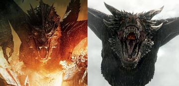 Der Hobbit/Game of Thrones-Drachen-Vergleich: Smaug vs. Drogon