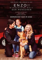 Enzo und die wundersame Welt der Menschen Poster
