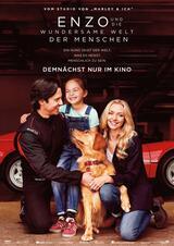 Enzo und die wundersame Welt der Menschen - Poster