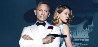 Daniel Craig undLéa Seydoux  in Spectre