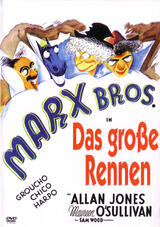 Die Marx Brothers: Ein Tag beim Rennen - Poster