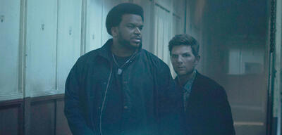Craig Robinson und Adam Scott in Ghosted