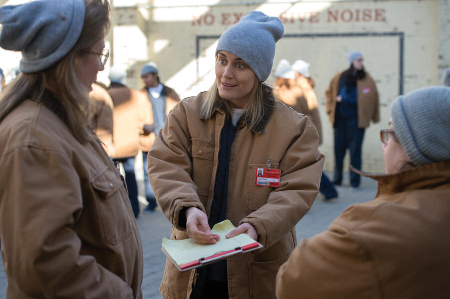 Orange Is the New Black - Staffel 6, Orange Is the New Black - Staffel 6 Episode 9 mit Taylor Schilling