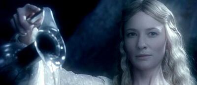Cate Blanchett als Galadriel in Herr der Ringe - Die Gefährten