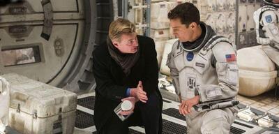 Christopher Nolan links im Bild