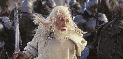 Ian McKellen als Ganalf