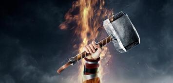 Bild zu:  Thor und sein Hammer