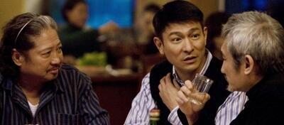 Sammo Hung, Andy Lau und Tsui Hark in Tao Jie