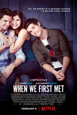When We First Met - Poster