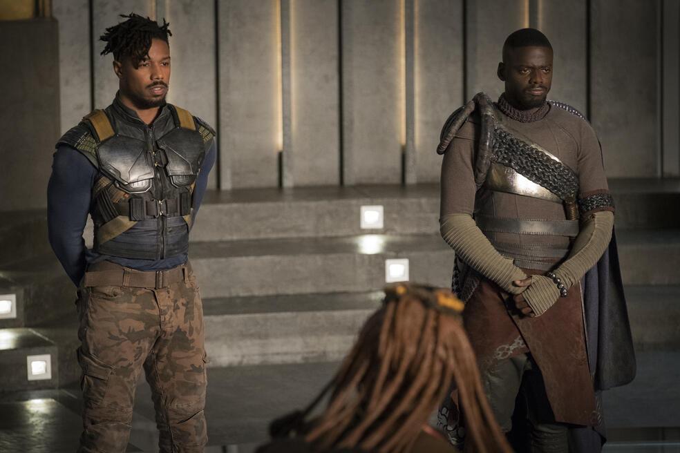 Black Panther mit Michael B. Jordan