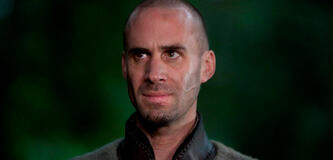 Joseph Fiennes als Merlin in Camelot