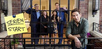 Bild zu:  Trailer zur neuen CBS-Comedy 9JKL