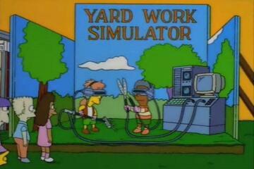 "Die Simpsons: ""Die armen Vagabunden"""