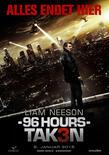 96 hours taken 3 poster