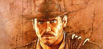 Drew Struzans Poster zu Jäger des verlorenen Schatzes