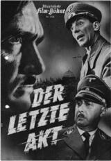 Der letzte Akt - Poster