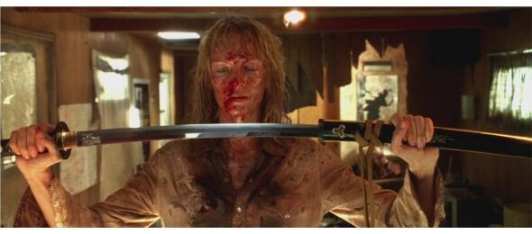 Uma Thurman in Kill Bill Vol.2