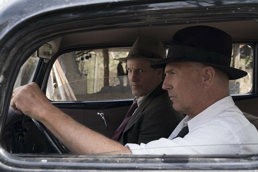 The Highwaymen mit Woody Harrelson und Kevin Costner