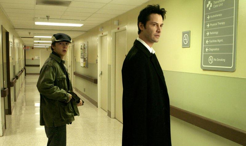 Constantine mit Keanu Reeves und Shia LaBeouf