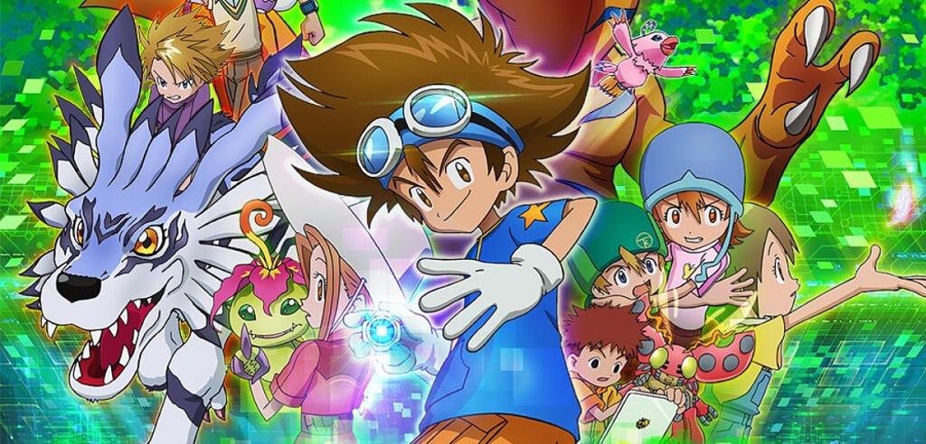 Die Digiritter im neuen Digimon Adventure-Anime