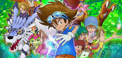 Die Digiritter im neuen Digimon Adventure-Anime