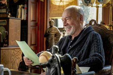Christopher Plummer a Knives Out