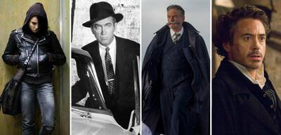 Salander, Ferguson, Poirot und Holmes sind allesamt Meisterdetektive
