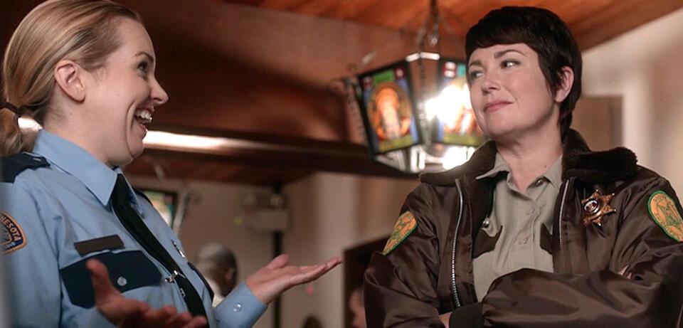 Supernatural: Briana Buckmaster undKim Rhodes