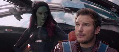Lauschen sie wohl grad dem Score? Szene aus Guardians of the Galaxy