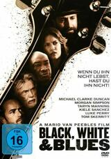 Black White and Blues - Poster