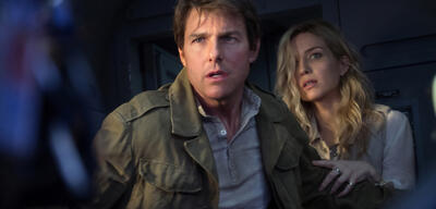 Tom Cruise und Annabelle Wallis in Die Mumie