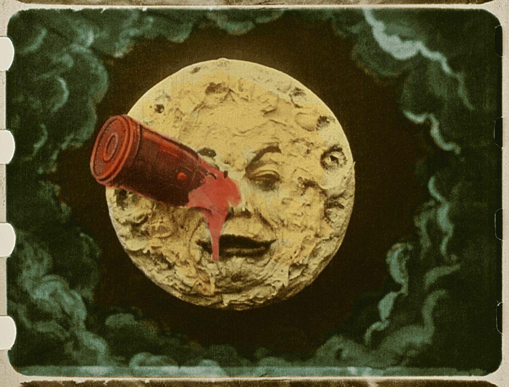 Die Reise Zum Mond 1902