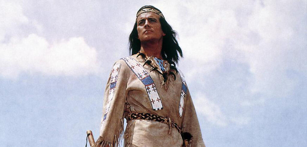 Pierre Brice als Winnetou