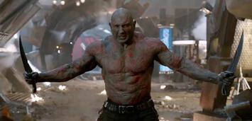Bild zu:  Stets bereit zu neuen Taten: Dave Bautista als Drax the Destroyer