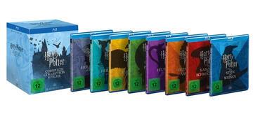 Die Harry Potter Blu-ray-Box