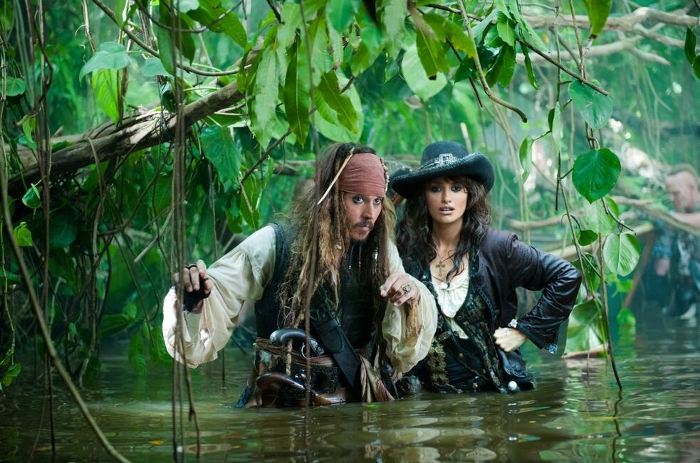 Pirates of the Caribbean - Fremde Gezeiten mit Johnny Depp und Penélope Cruz