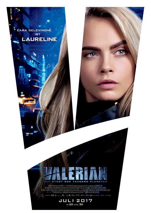 Valerian - Die Stadt der tausend Planeten mit Cara Delevingne