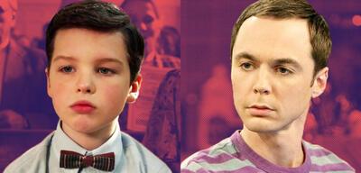 Sheldon in Yong Sheldon und The Big Bang Theory