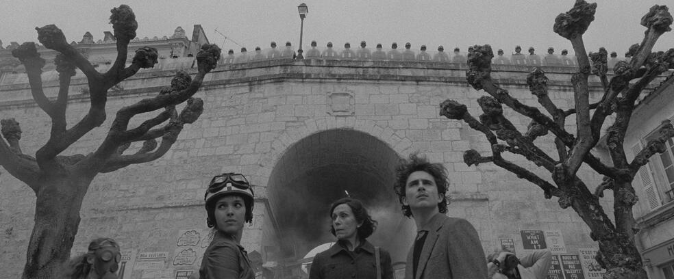 The French Dispatch mit Frances McDormand, Timothée Chalamet und Lyna Khoudri