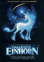 Das letzte Einhorn Poster
