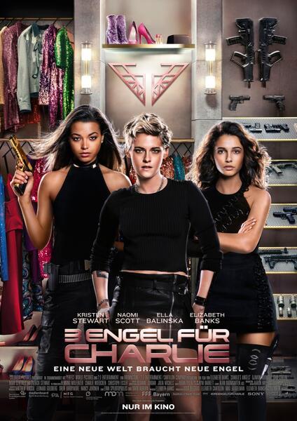 3 Engel für Charlie mit Kristen Stewart, Naomi Scott und Ella Balinska