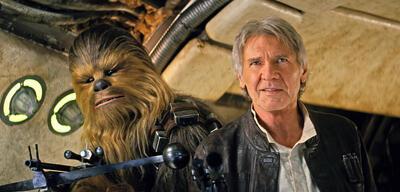 Han Solo und Chewbacca in Star Wars Episode VII