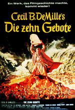 Die zehn Gebote Poster