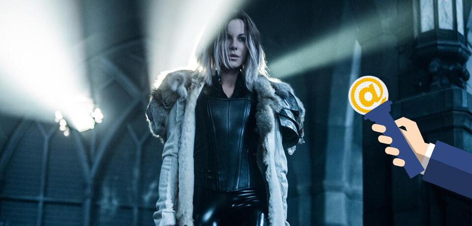 Kate Beckinsale als Selene in Underworld 5: Blood Wars