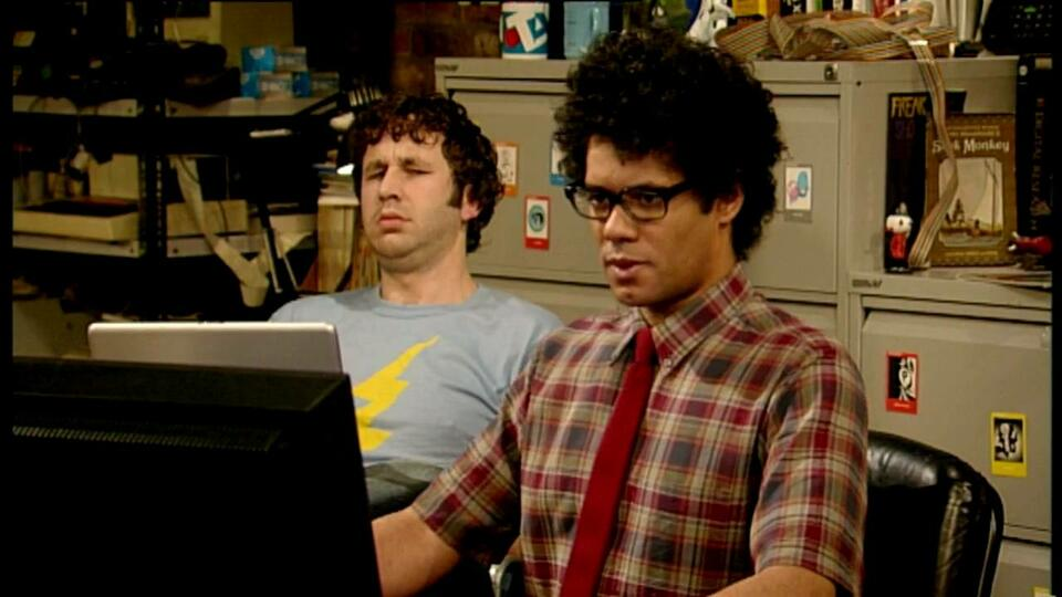 The IT Crowd mit Chris O'Dowd und Richard Ayoade