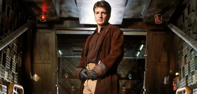 Nathan Fillion in Firefly ‒ Aufbruch der Serenity