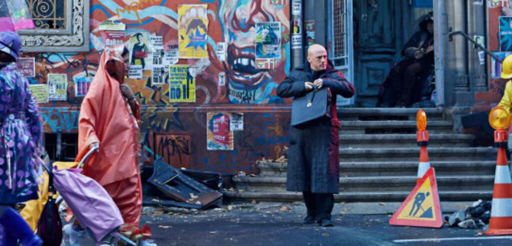 Christoph Waltz in Terry Gilliams The Zero Theorem