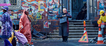 Bild zu:  Christoph Waltz in Terry Gilliams The Zero Theorem