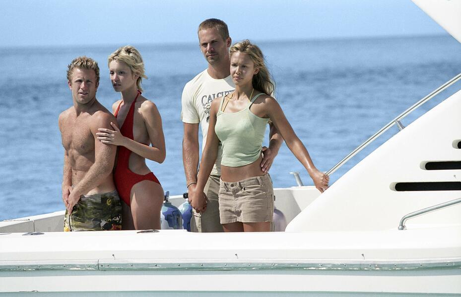 Into the Blue mit Jessica Alba, Paul Walker, Scott Caan und Ashley Scott